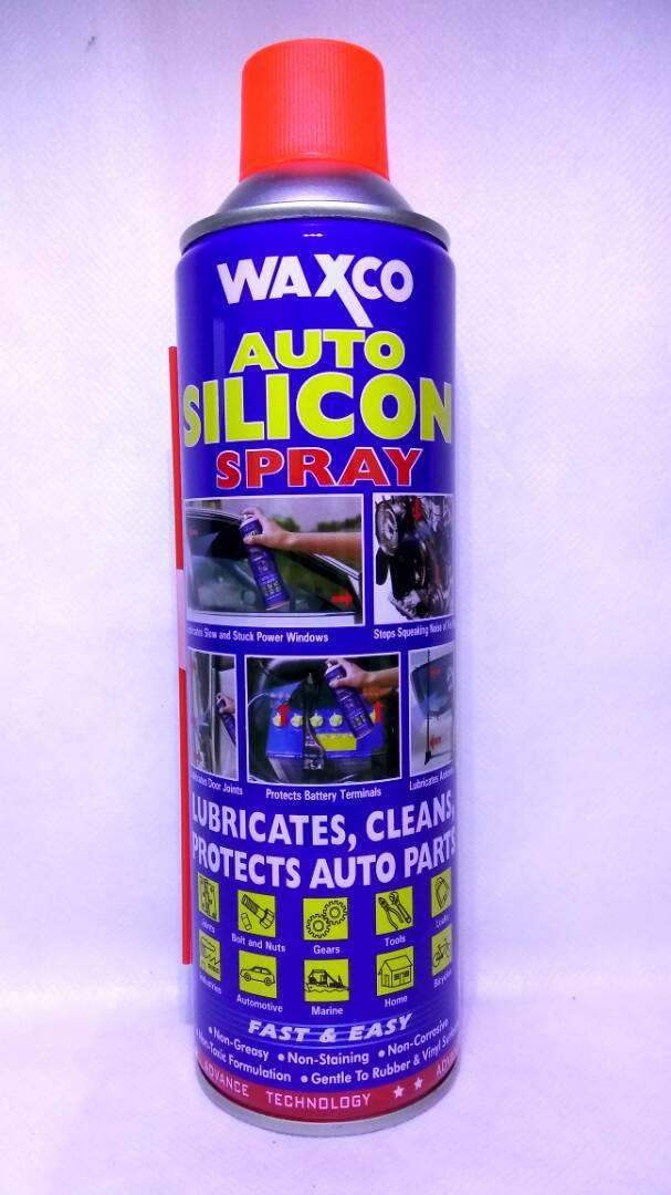 WAXCO AUTO SILICON SPRAY - 550ML