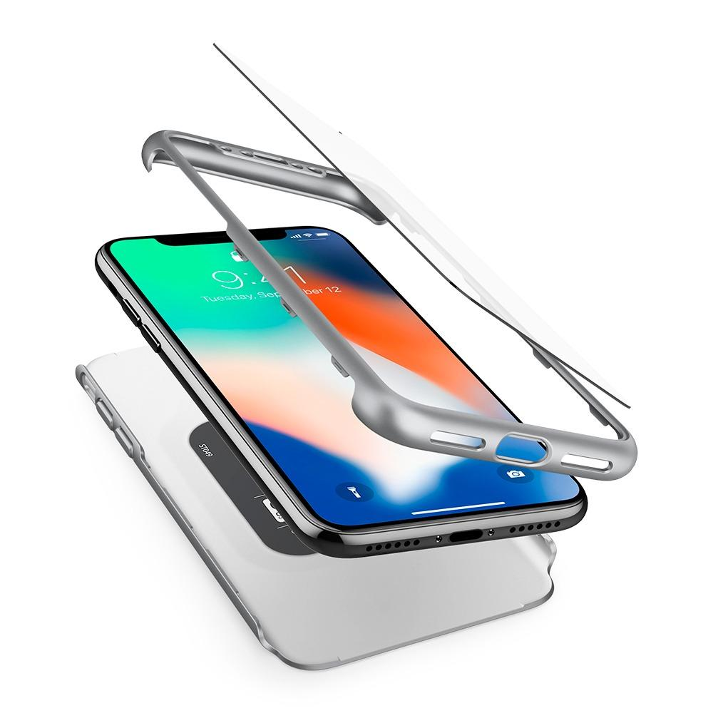 Compare Price Spigen Iphone X Case Thin Fit 360 Spigen On Singapore