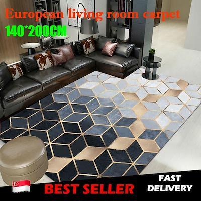 FAST DELIVERYLOCAL SELLERModern Nordic carpet living room ★140 *200cm★ Anti Slip Carpet ★