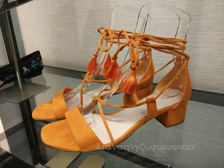 d9d6c5e6aa1 CHARLES&KEITH New Summer Cross Straps Tassels A-line with Chunky Heel  Women's Sandals CK1-60390311