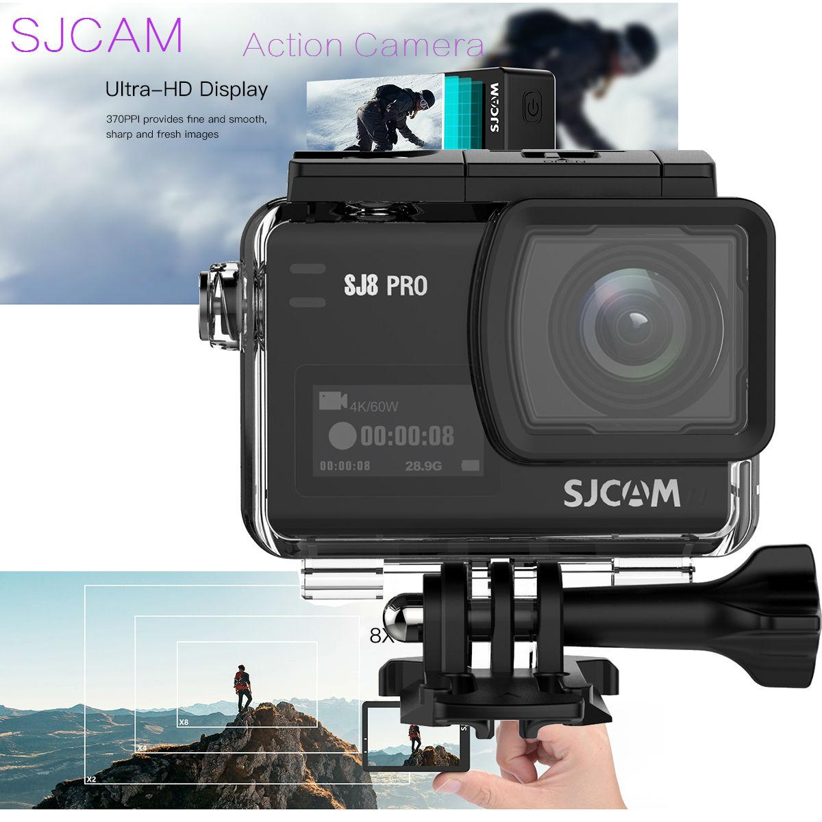 Buy Sports Camera Online Action Lazada X Pro 6s 4k 12 Mp Original Sjcam Sj8 60fps 8x Dual Touch Screen Wifi 30m Ip68 Waterproof