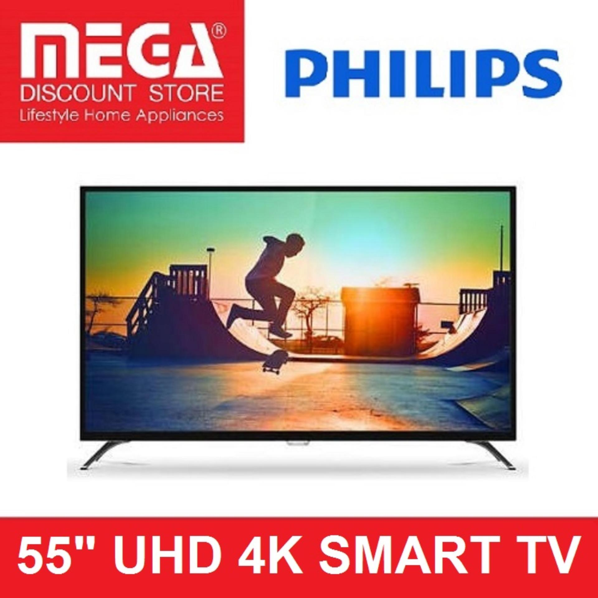 "Philips 55"" 4K Ultra Slim Smart LED TV 55PUT6002"