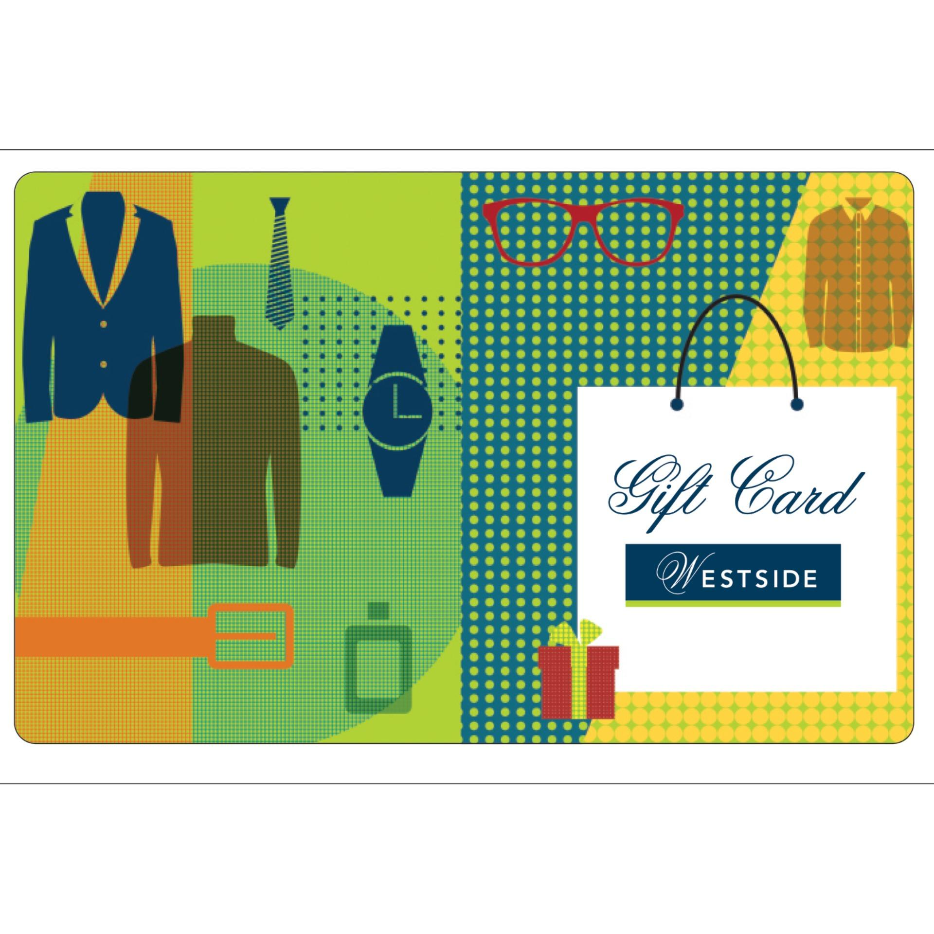 Westside Digital Gift Cards: Rs. 4005 By Qwikcilver Store.