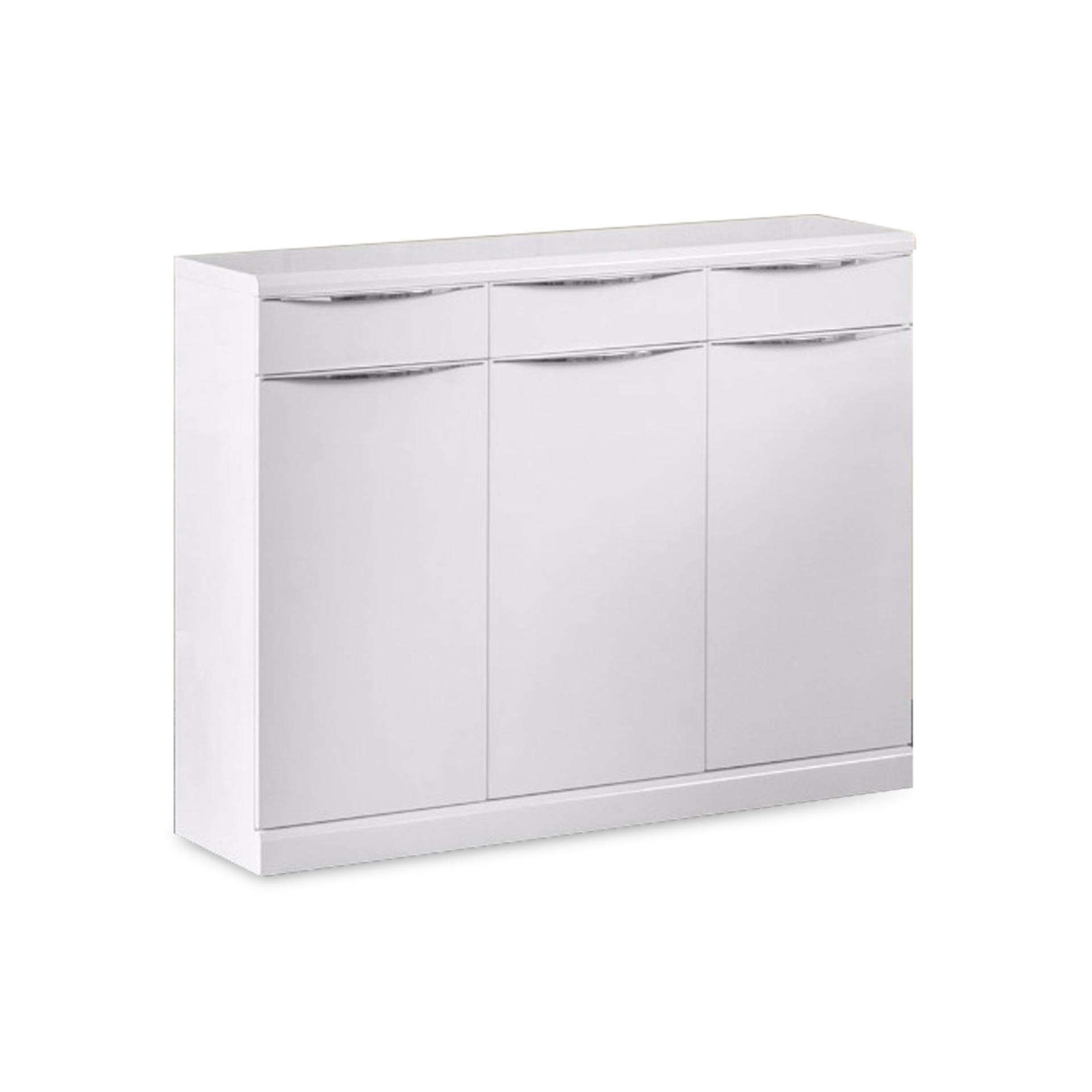 Amaud 3 Doors Shoe Cabinet (FREE DELIVERY)(FREE ASSEMBLY)
