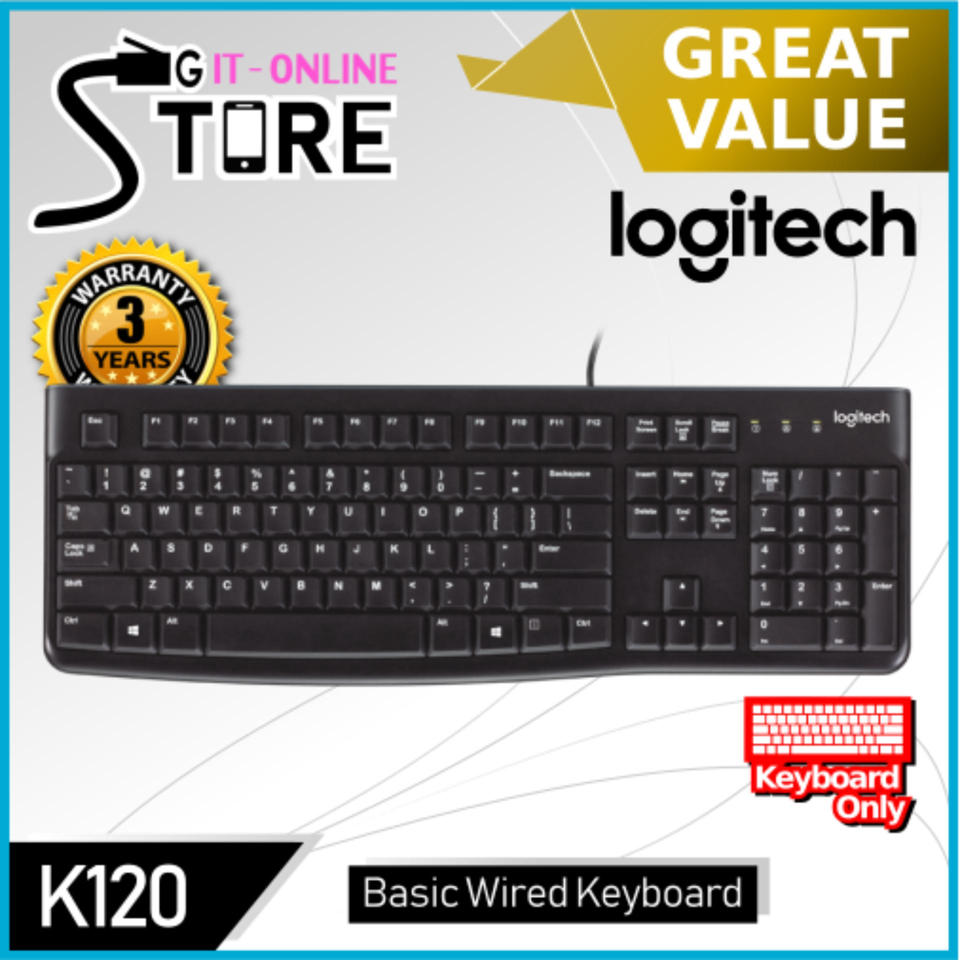 8c25b118588 Logitech Wired Keyboard K120 Singapore