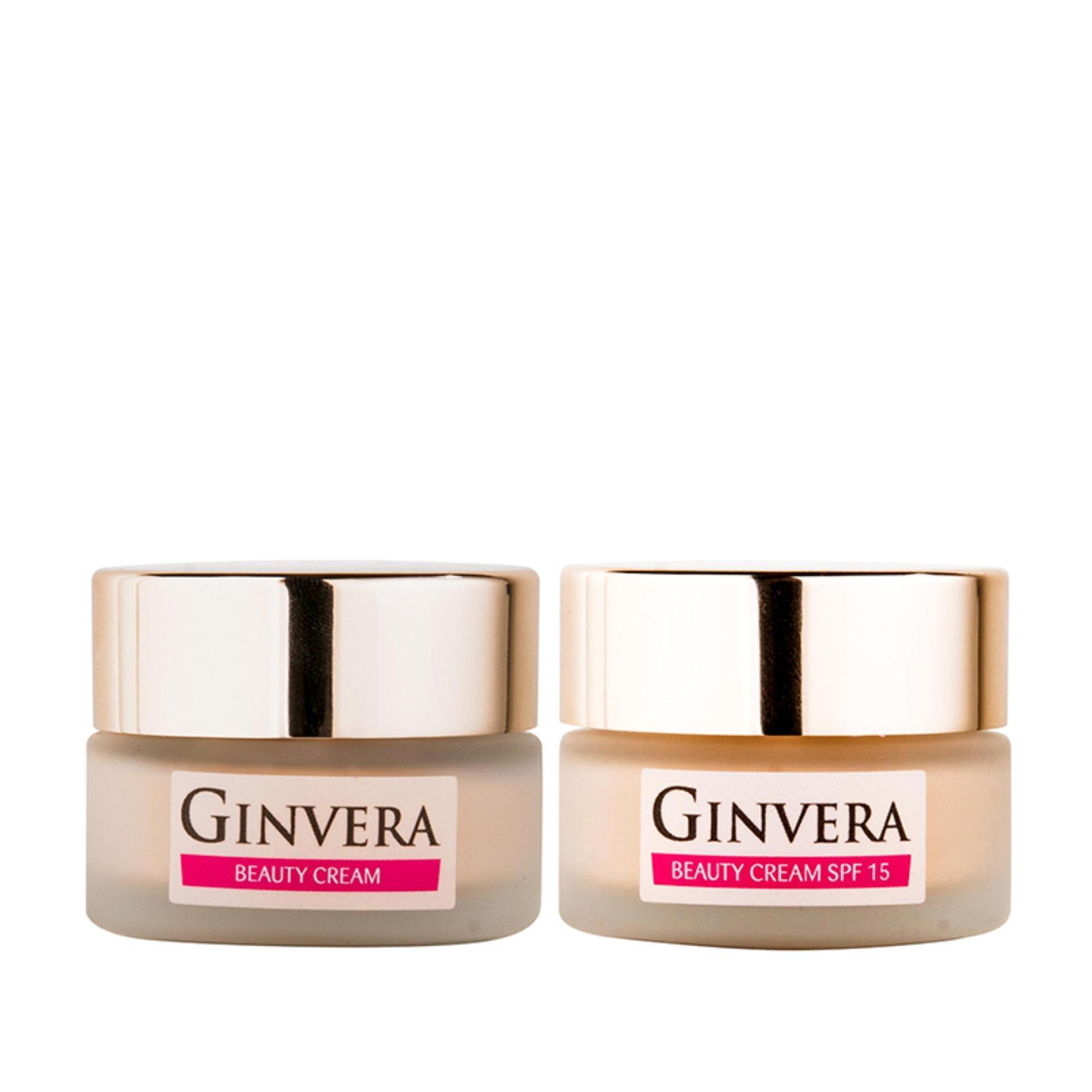 Ginvera Korean Secrets White Glow Beauty Cream SPF15 16g x 1 + Ginvera Korean Secrets White Glow Beauty Cream SPF15 16g x 1