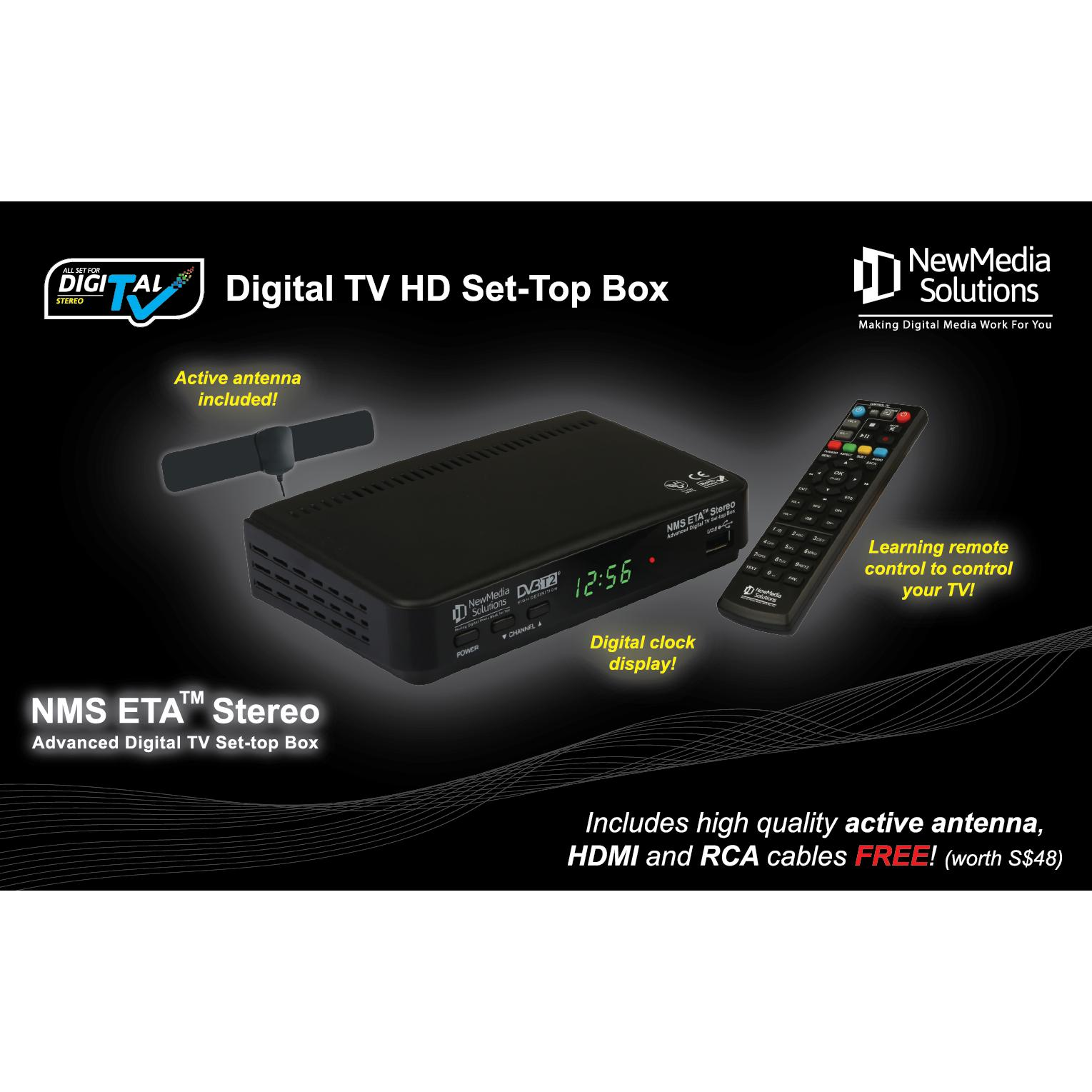 Store Nms Dvb T2 Premium Digital Tv Set Top Box Newmedia Solutions On Singapore