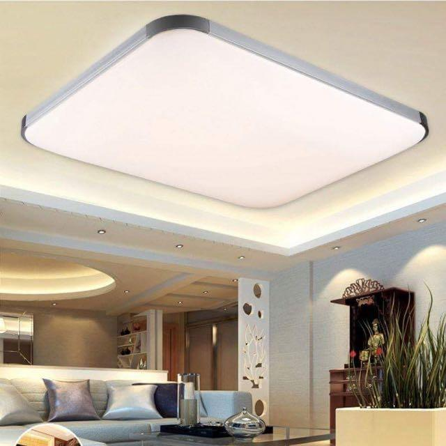 Price 48W Rectangle Aluminium Ceiling Light 3 Colour Oem