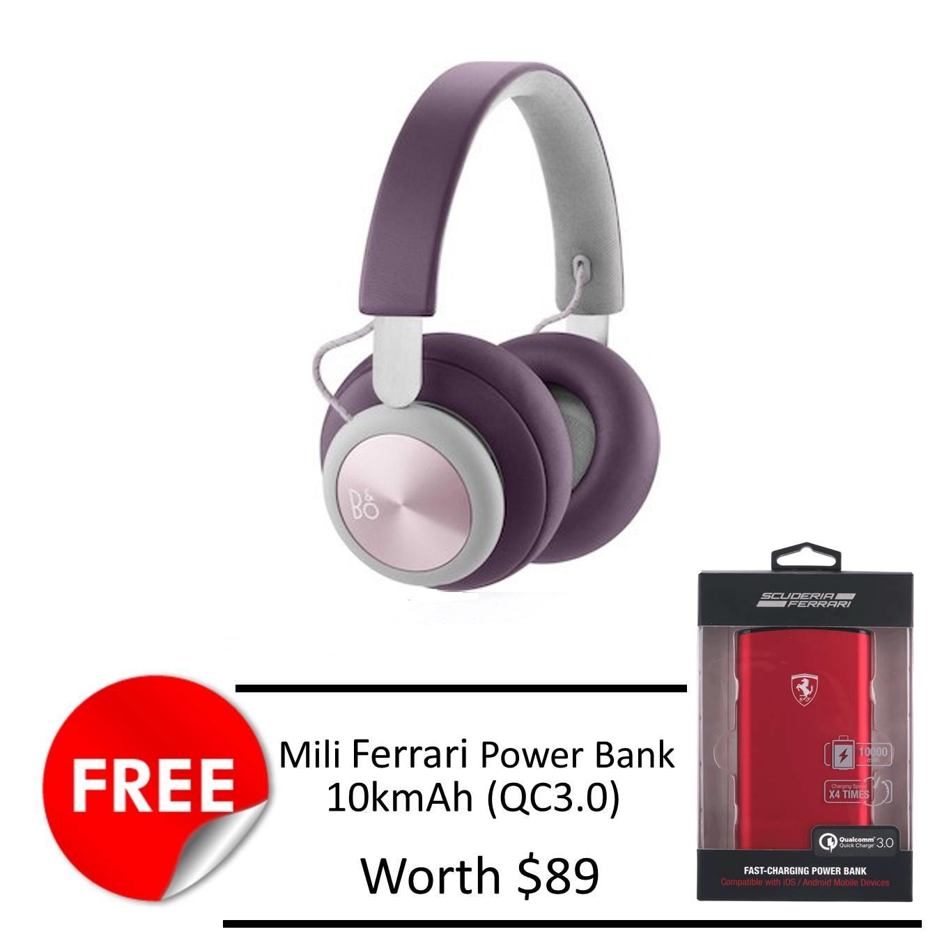 B O Beoplay H4 Wireless Bluetooth Headphone Free Ferrari 10K Mah Powerbank Free Shipping