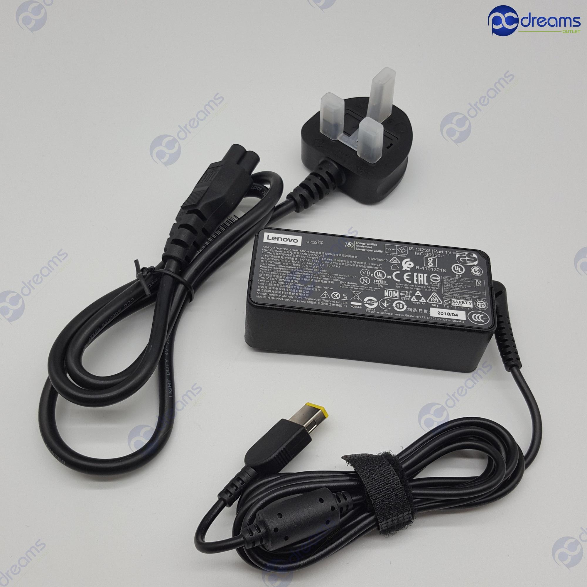 LENOVO THINKPAD 45W AC ADAPTER (SLIM TIP)  [Brand New]