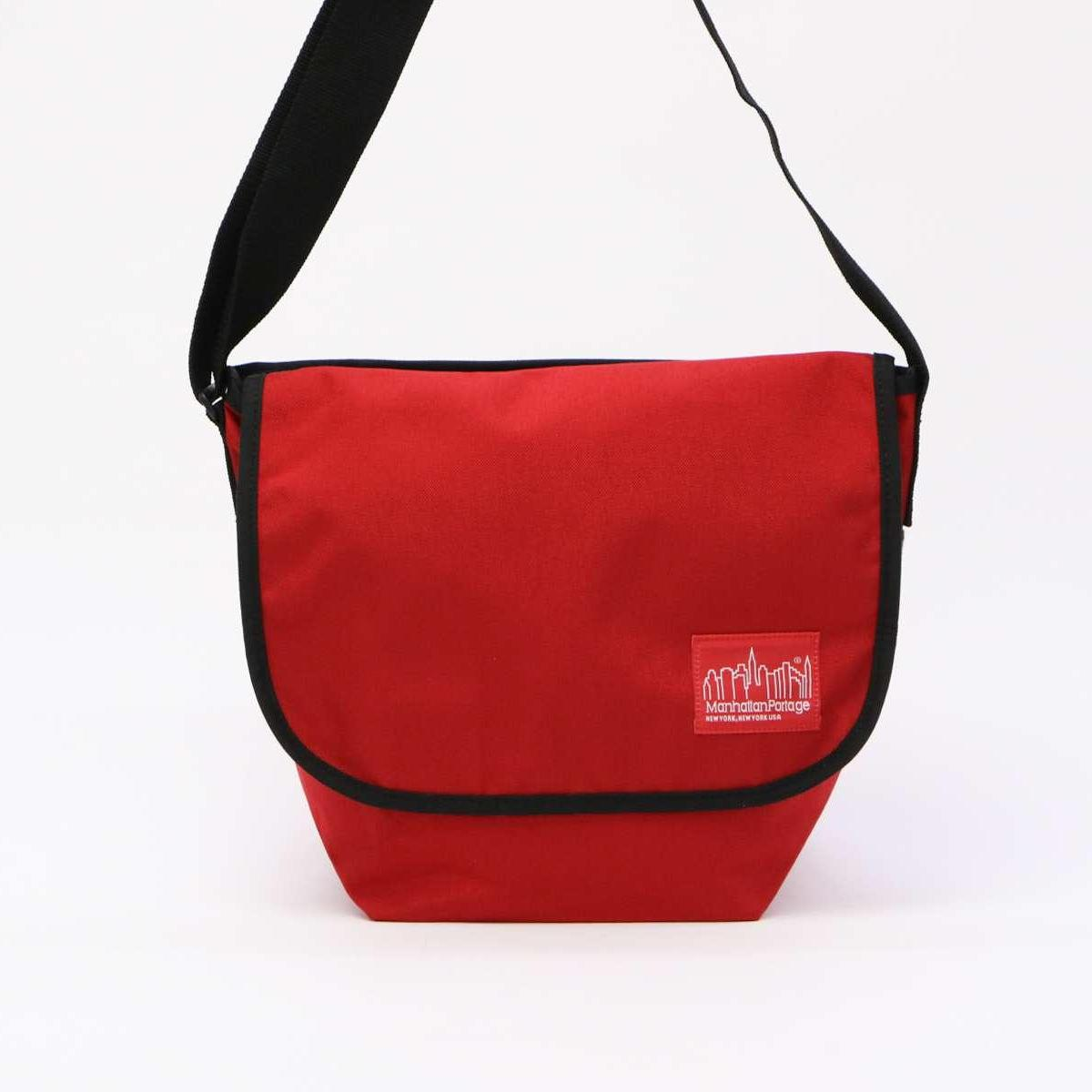 [Manhattan Portage] Unisex JR SM Messenger Bag B5 SIZE Square type Codura Water Repellant