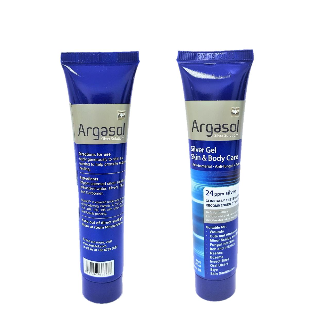 Great Deal Argasol Silver Body And Skin Gel 24Ppm 44Ml