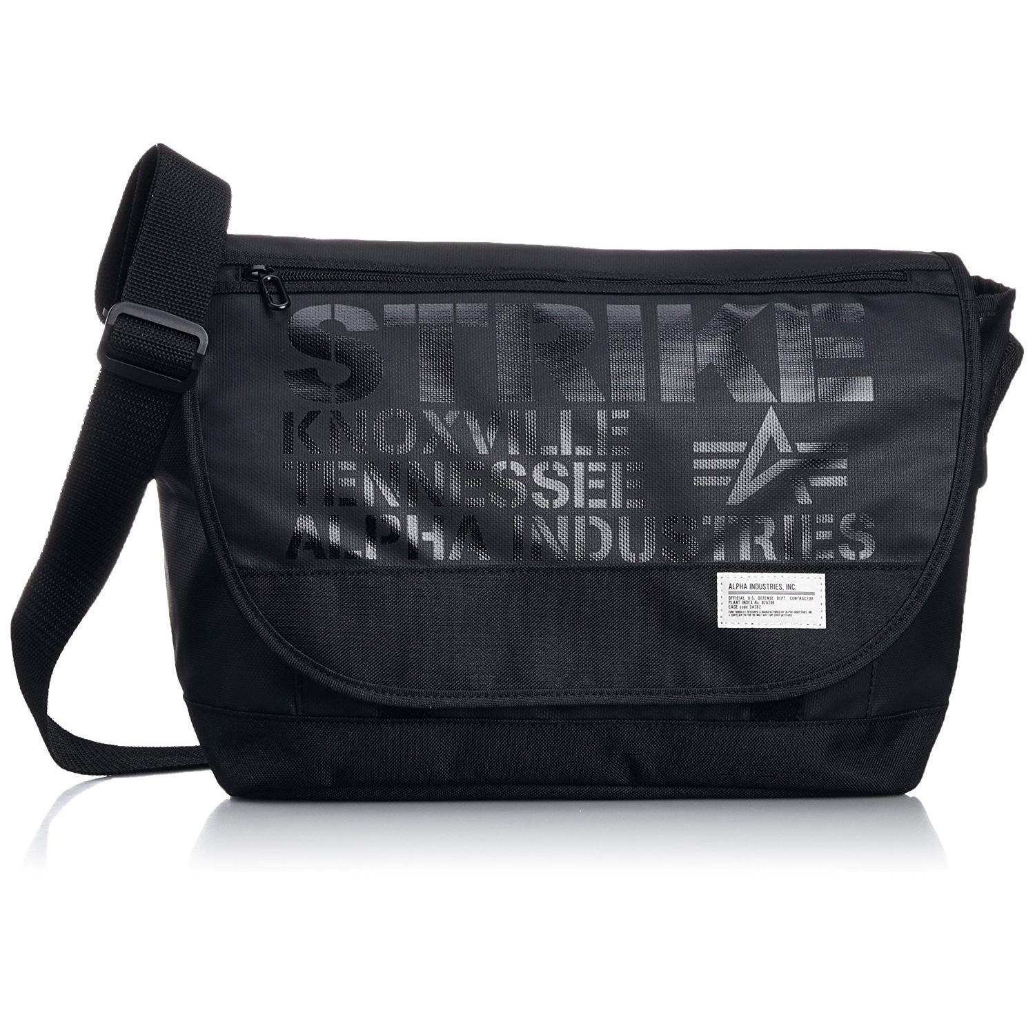 Alpha Industries Premium Quality Messenger Bag Unisex Shoulder Bag Cross Body Bag By Ryan&rayla.