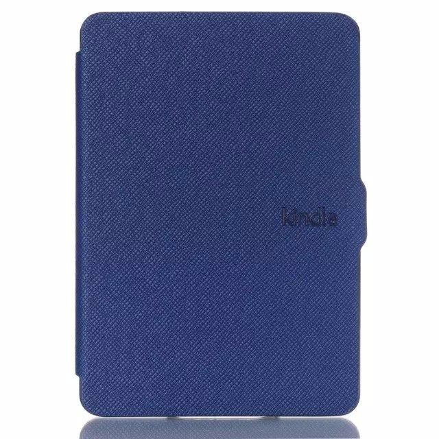 Who Sells Kindle Paperwhite Smart Cover Blue With Free Matt Screen Protector