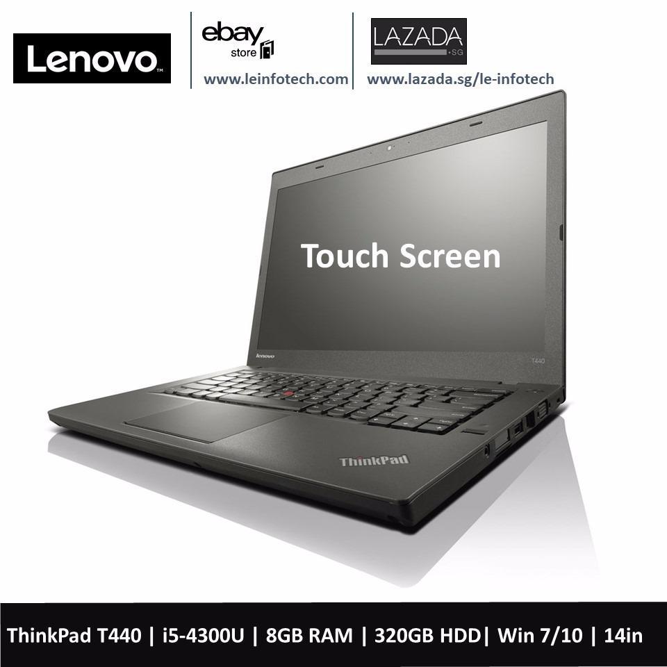Lenovo ThinkPad T440 Laptop 14in Notebook Intel Core i5 4th Gen 4300U 1.9Ghz 8GB RAM 320GB HDD Win 10 Pro Used