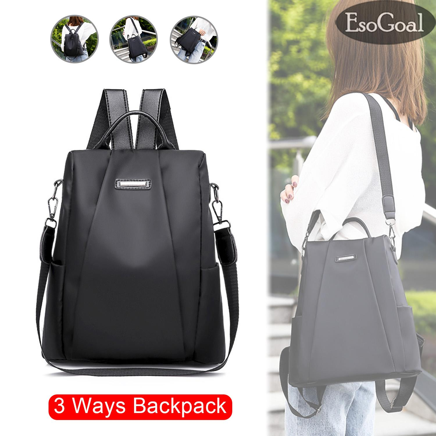 d2638a316820 EsoGoal Fashion Women Backpack Shoulder Bag Korea Style Anti-theft Backpack  College School Bag For