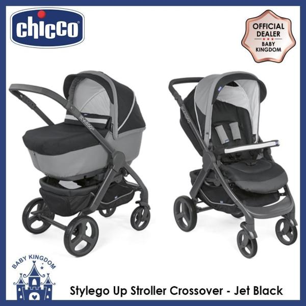 Chicco Stylego Up Stroller Crossover - Jet Black Singapore