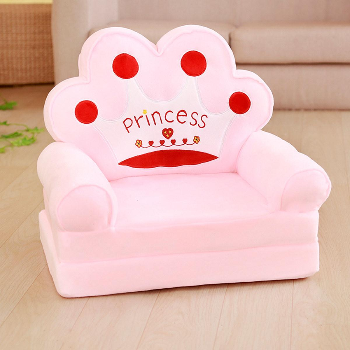 Cartoon Children Lazy Sofa Chair Single Person Tatami Modern Minimalist Bedroom Small Sofa Living Room Princess Style