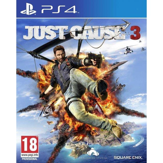 Sale Ps4 Just Cause 3 Eur R2 Ps4 Branded