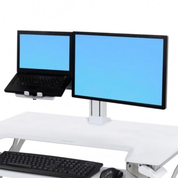 Ergotron WorkFit LCD & Laptop Kit (white)