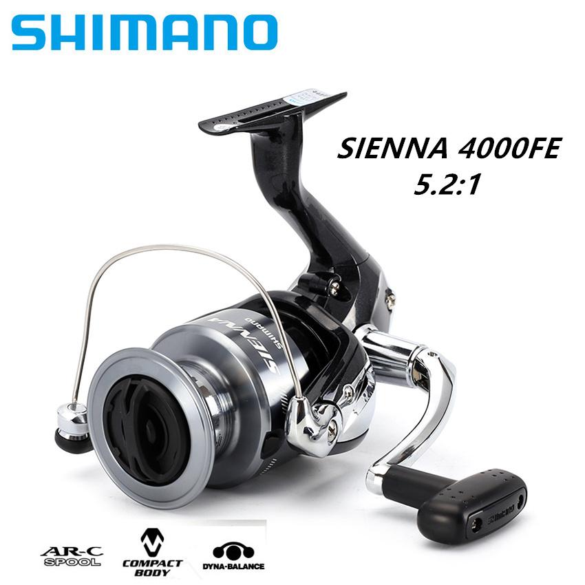 Sale 100 Original Shimano Sienna 4000Fe Spinning Fishing Reel 1 1Bb Front Drag Xgt7 Body Saltewater Carp Fishing Reel Sea Fishing Intl Online On China