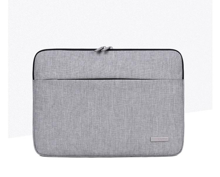 Buy Cheap Canvasartisan Minimalistic Canvas Laptop Sleeve Bag With Additional Front Pocket Sleeves 14