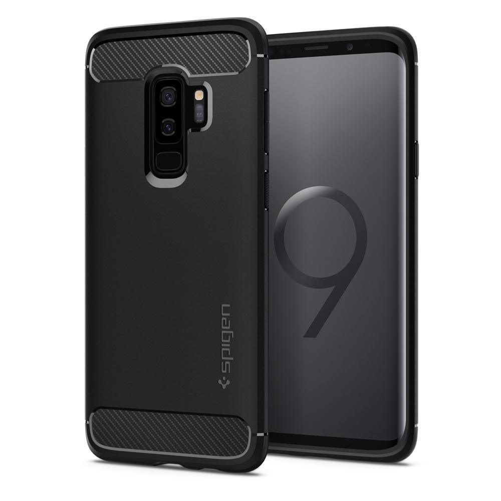Sale Spigen Galaxy S9 Plus Case Rugged Armor Spigen On Singapore