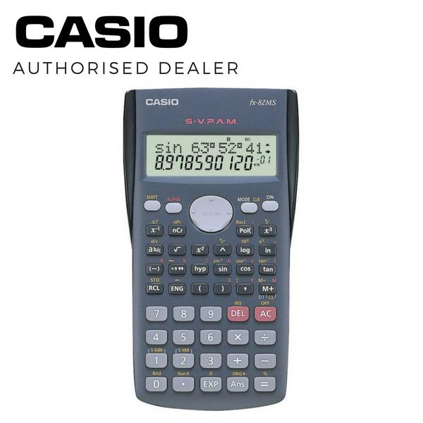 Casio Fx 82Ms Scientific Calculator Casio Discount