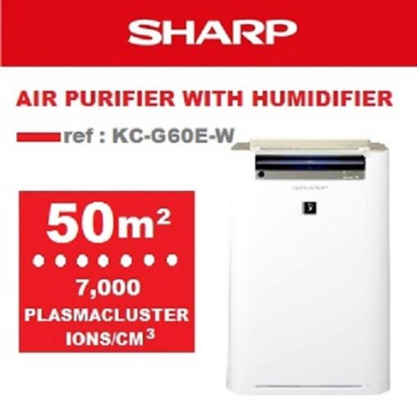 SHARP Air Purifiers with Humidifying Function KC-G60E-W Singapore