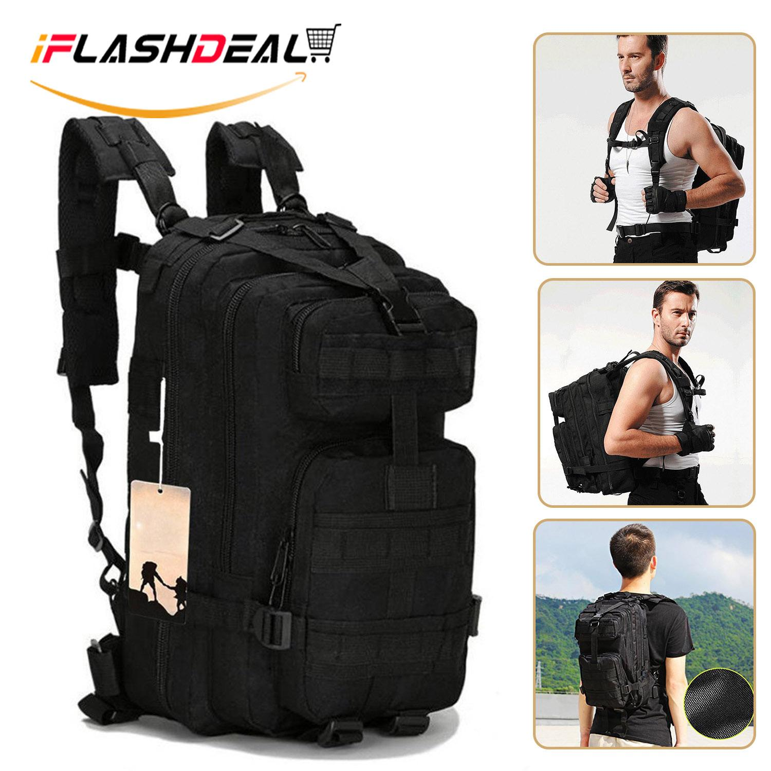Iflashdeal Tactical Backpack, Military 3 Day Assault Pack Backpack For Camping Hiking And Trekking By Iflashdeal.