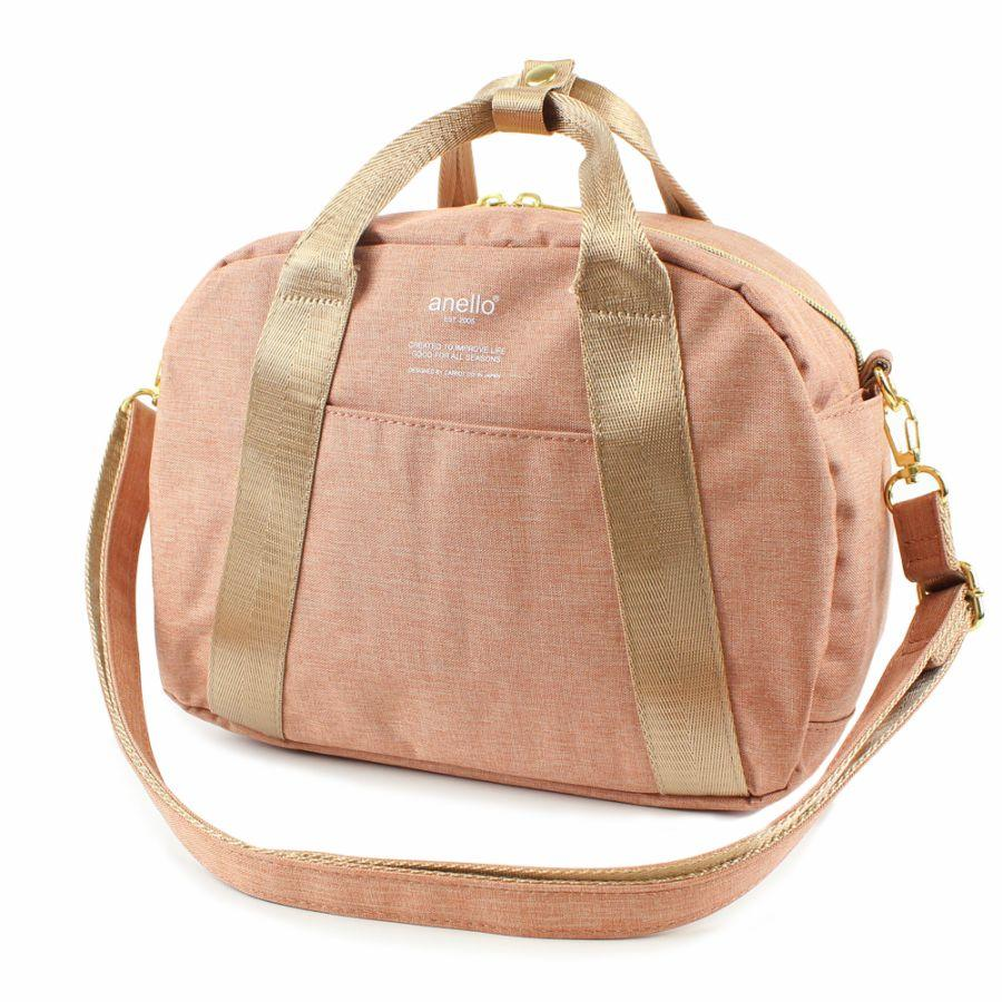 403fad4356d Singapore.  anello japan best seller  AT-C1835 2in1 High density heather  mini Boston bag