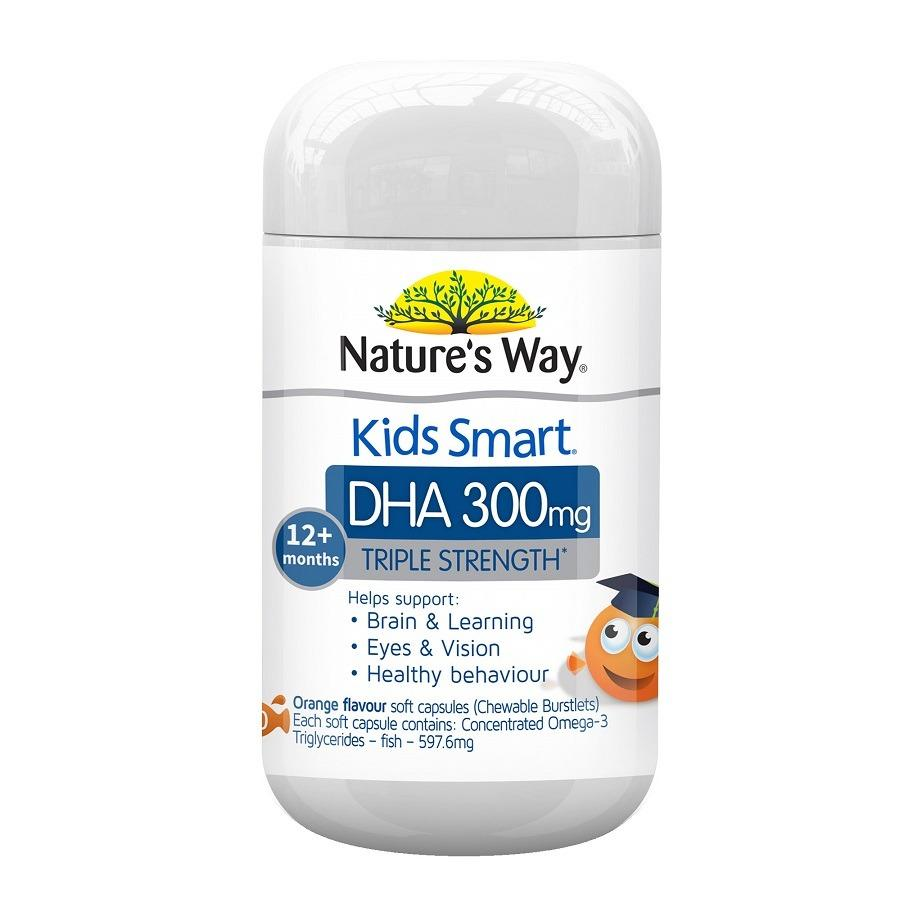 Sale Nature S Way Kids Smart Triple Strength Dha 300Mg 50 Soft Capsules Nature S Way