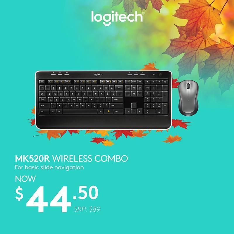 Logitech MK520r Wireless Combo #Autumn2018Sale Singapore