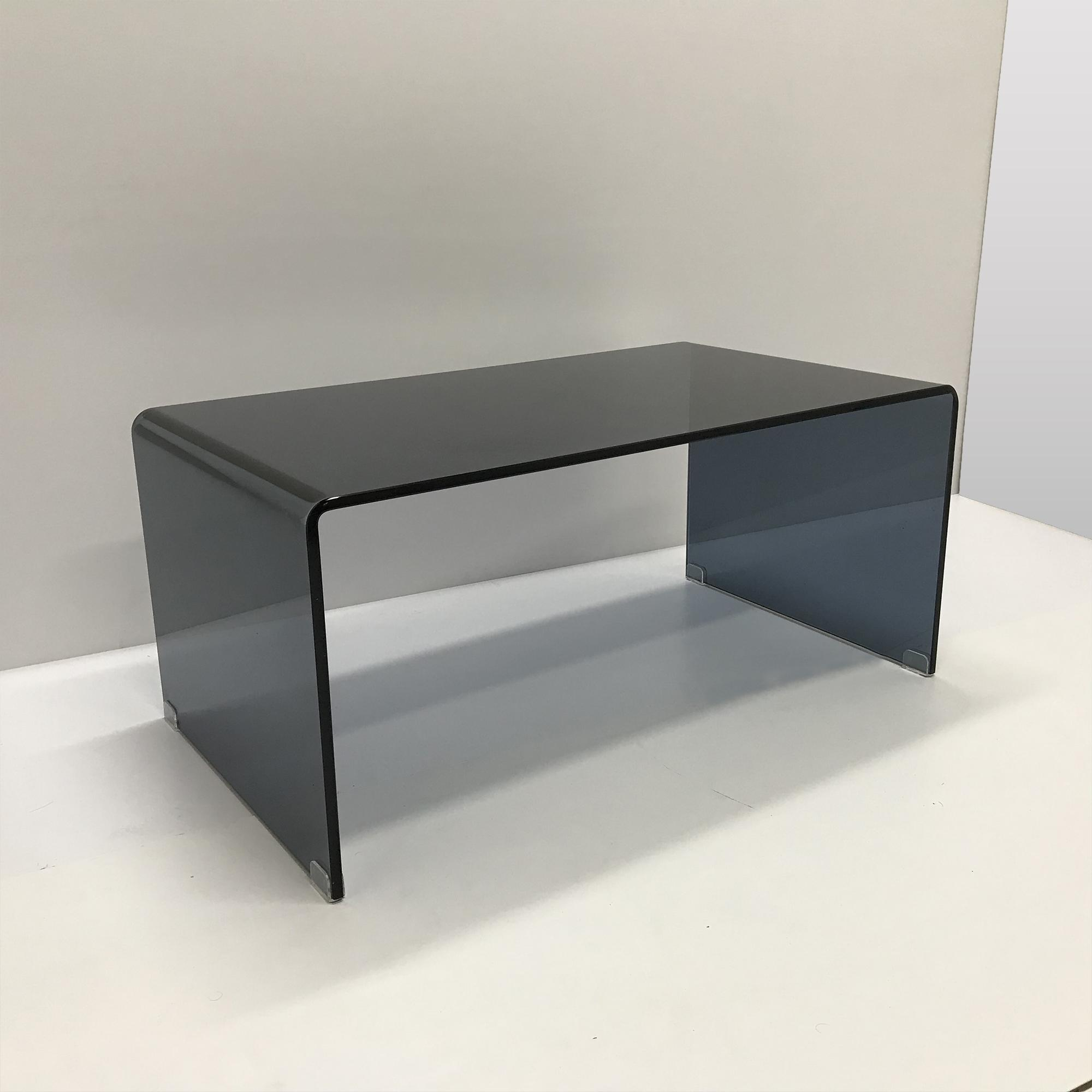 Minimalist Black Tinted Coffee Table