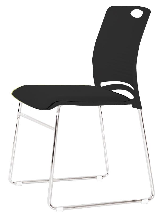 Jiji Tessa Commercial Conference Stacking Chair Free Installation Conference Room Chair Meeting Room Chair Office Chair Stacking Chair