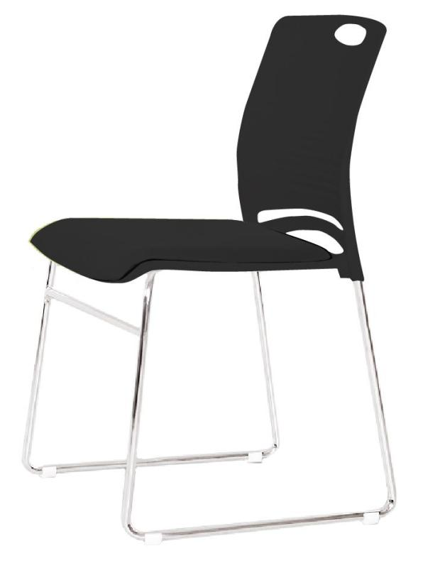 JIJI (TESSA Commercial Conference Stacking Chair) (Free Installation) / Conference Room Chair / Meeting Room Chair / Office Chair / Stacking Chair / Stackable Chair / 12 Month Warranty / (SG) Singapore