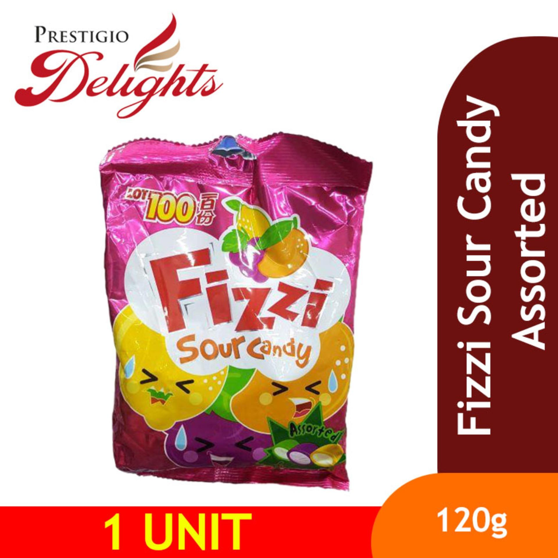 Fizzi Sour Candy Assorted By Prestigio Delights.
