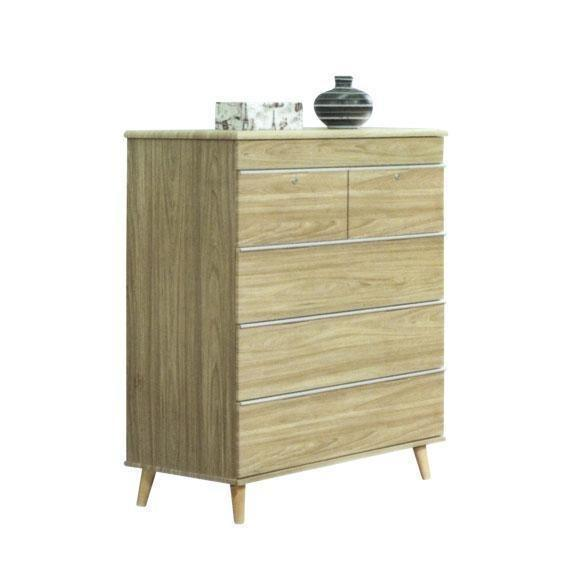 [Furniture Ambassador] Gaetan Chest Of Drawer w Open Mirror