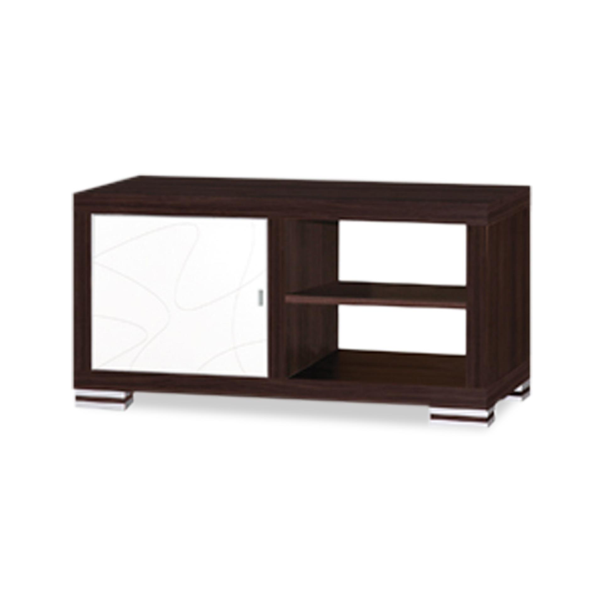 Benoit 1 Door TV Cabinet 1.1m (FREE DELIVERY)(FREE ASSEMBLY)