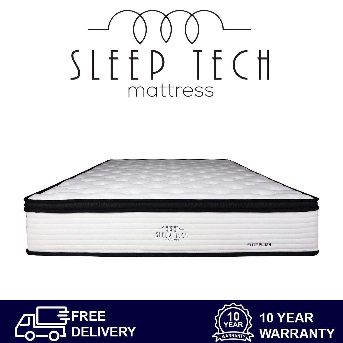 Elite Plush Pocketed Single Size Mattress by Sleep Tech™