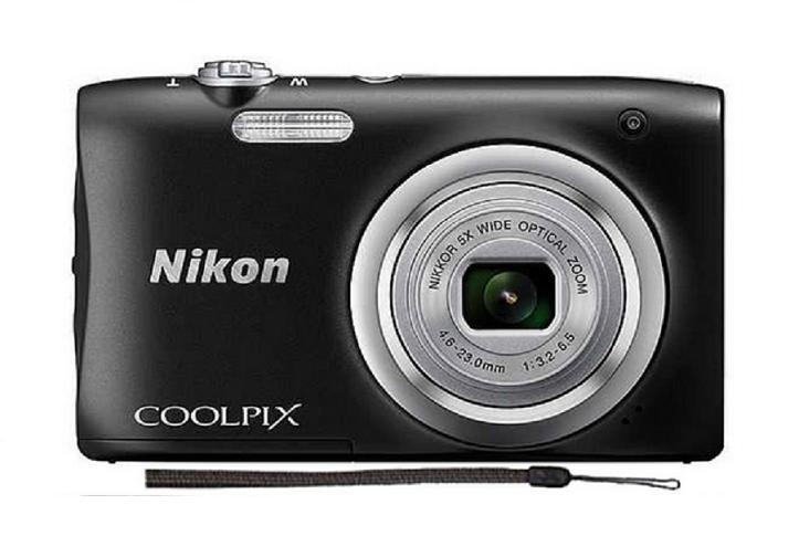 Shop For Nikon Coolpix A100 Black Export Free Nikon Original Camera Case