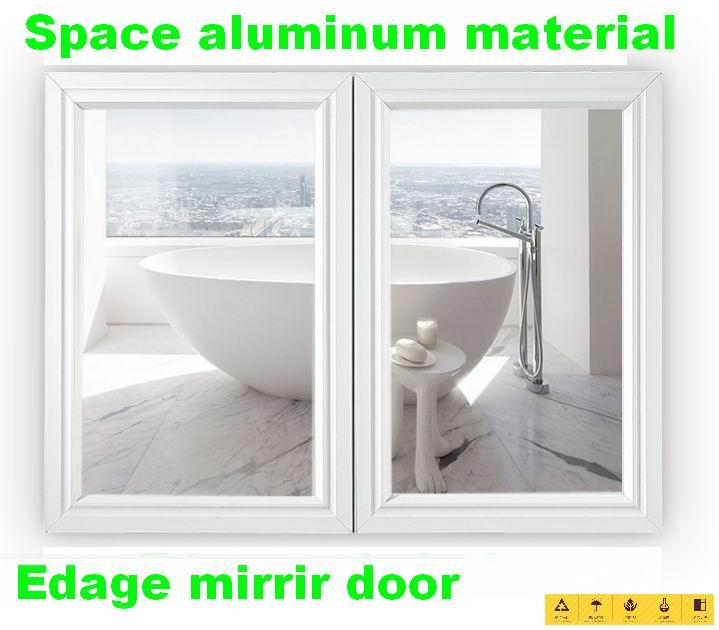 Cabinet Mirror Space Aluminum