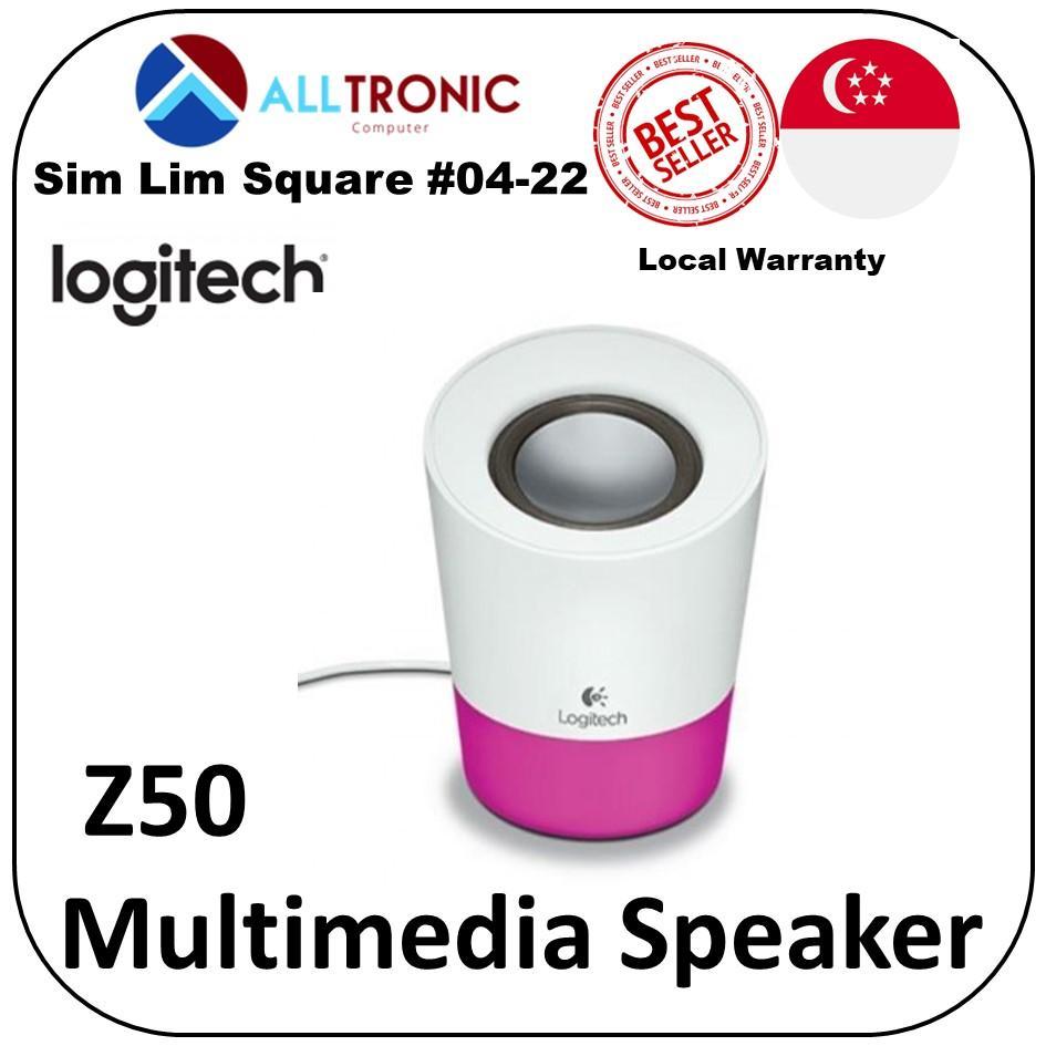 abcbf15832e Logitech Z50 Multimedia Portable Speaker Singapore