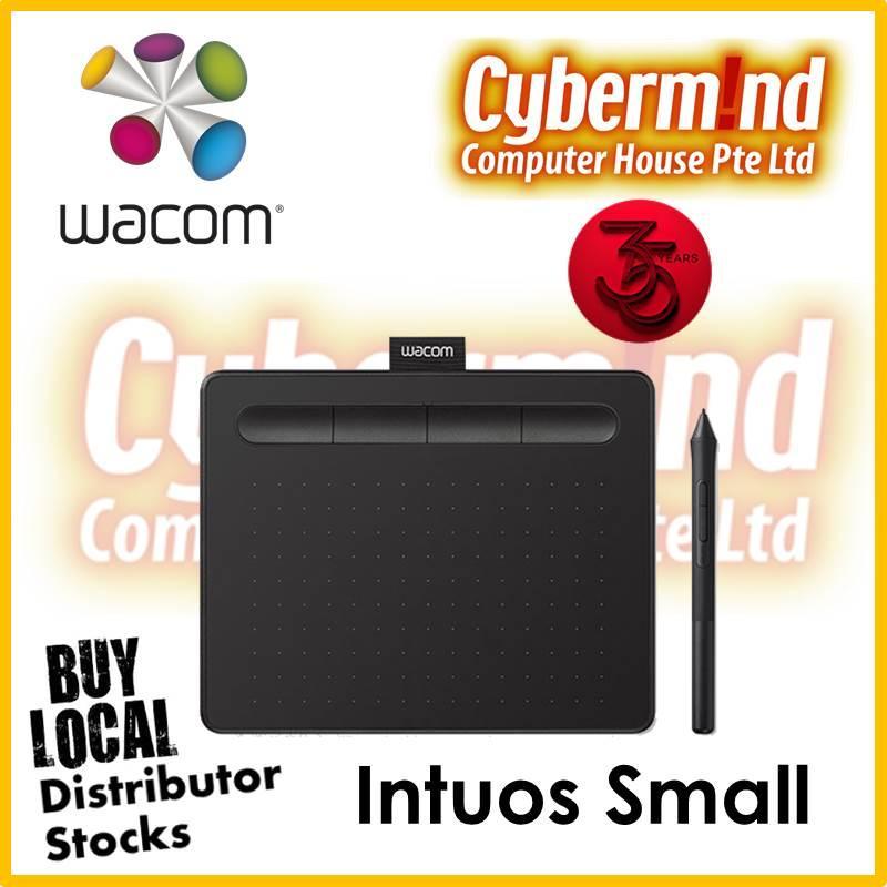 (PROMO) Wacom Intuos Small, Black (CTL-4100/K0-CX) (Local Distributor Stocks)