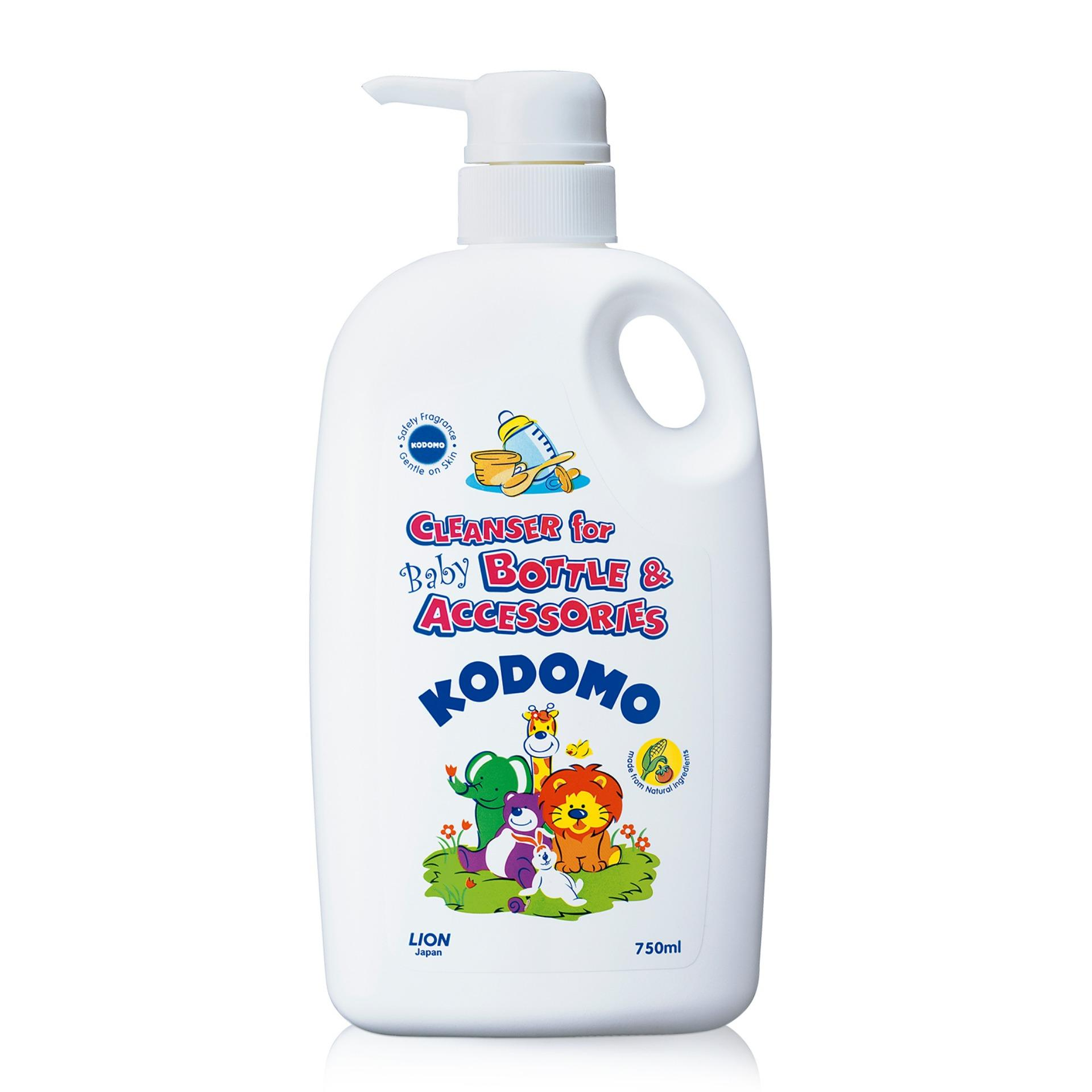 Kodomo Cleanser For Baby Bottle & Accessories 750ml By Lion Sg.