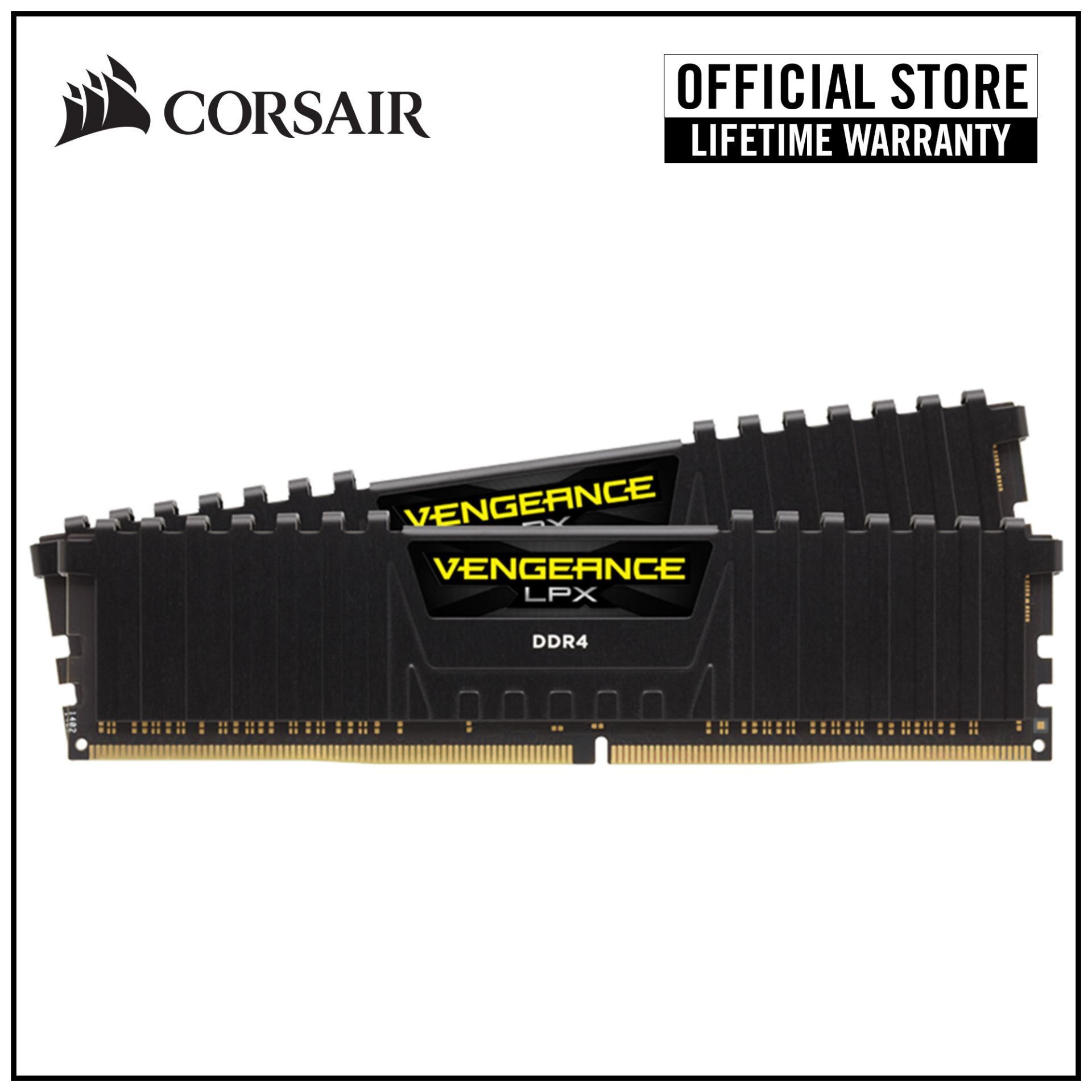 Corsair Vengeance Lpx Ryzen Certified 16gb (2x8gb) Ddr4 2933mhz C16 Dimm Desktop Memory Kit - Black By Corsair Official Store.
