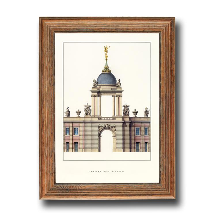 European Style American the Large Pastoral Painting Frame Mounting Frame 24-Inch 28 30 32 36 40A4 A3 A2 8 K 4 K