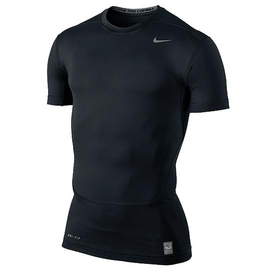 Compare Price Nike Men S Pro Compression Short Sleeve Black On Singapore