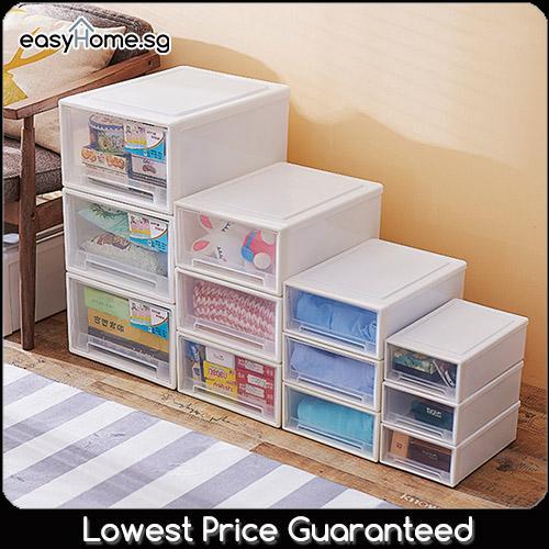 Storage Drawer - Organizer Plastic Box (5 sizes available)