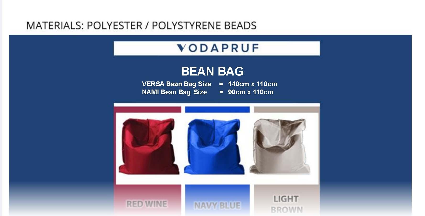 Versa Bean Bag (110 x 140cm)